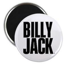 BILLY JACK Text Logo Magnet