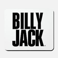 BILLY JACK Text Logo Mousepad