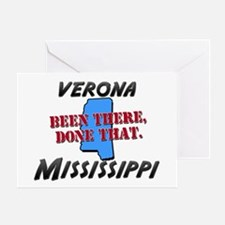 verona mississippi - been there, done that Greetin