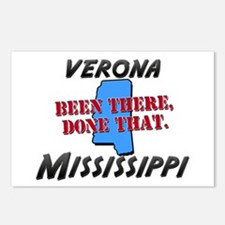 verona mississippi - been there, done that Postcar