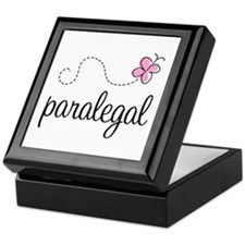 Pretty Paralegal Keepsake Box