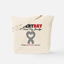 Brain Cancer Grandpa Tote Bag