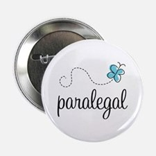"""Butterfly Paralegal 2.25"""" Button"""