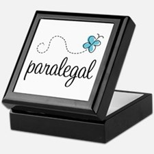 Butterfly Paralegal Keepsake Box