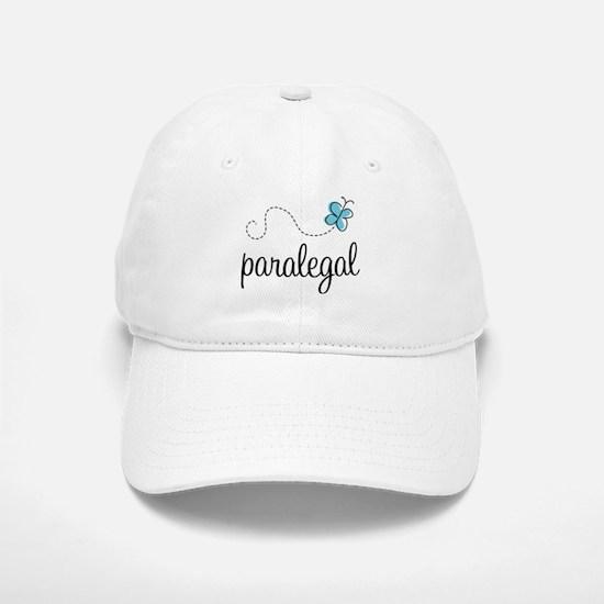 Butterfly Paralegal Baseball Baseball Cap
