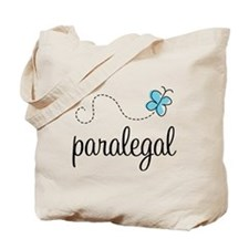 Butterfly Paralegal Tote Bag