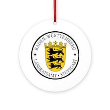 Stuttgart Ornament (Round)