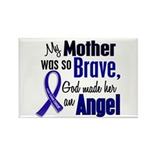 Angel 1 MOTHER Colon Cancer Rectangle Magnet