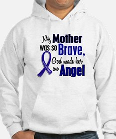 Angel 1 MOTHER Colon Cancer Hoodie