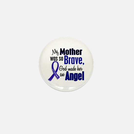 Angel 1 MOTHER Colon Cancer Mini Button (10 pack)