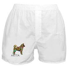 Glow Bright Akita Boxer Shorts