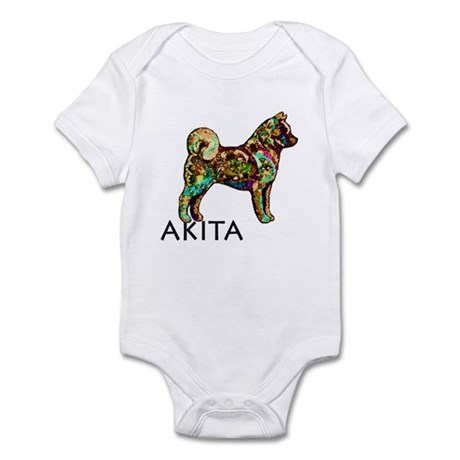 Glow Bright Akita Infant Bodysuit