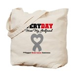 Brain Cancer Girlfriend Tote Bag