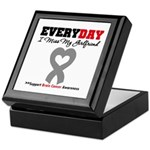 Brain Cancer Girlfriend Keepsake Box