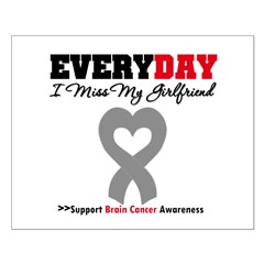 Brain Cancer Girlfriend Posters