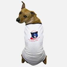 Petting a Bear Dog T-Shirt