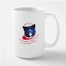 Petting a Bear Mug