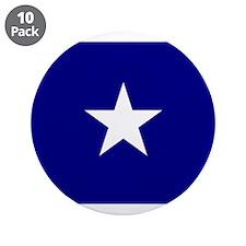 "Bonnie Blue Flag 3.5"" Button (10 pack)"