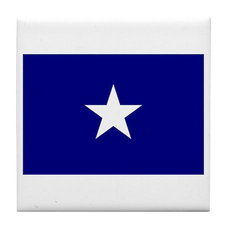 Bonnie Blue Flag Tile Coaster