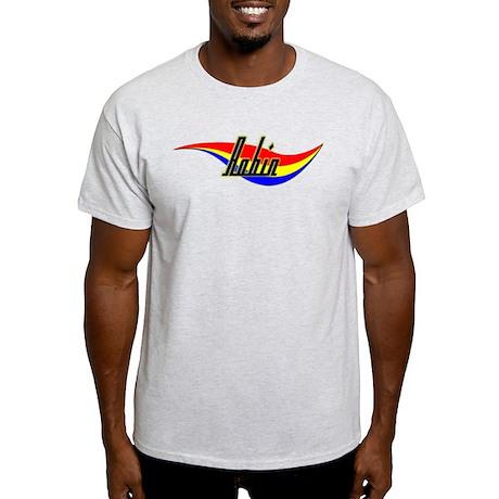 Robin's Power Swirl Name Ash Grey T-Shirt