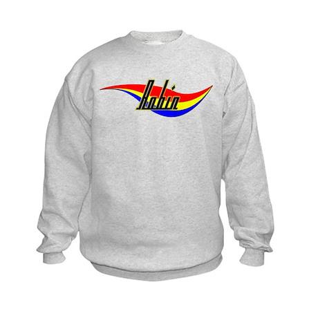 Robin's Power Swirl Name Kids Sweatshirt