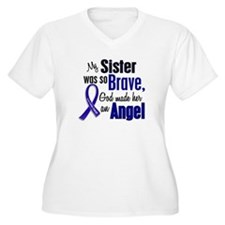 Angel 1 SISTER Colon Cancer T-Shirt