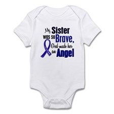 Angel 1 SISTER Colon Cancer Infant Bodysuit