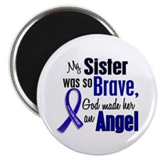 Angel 1 SISTER Colon Cancer Magnet