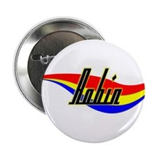 """Robin's Power Swirl Name 2.25"""" Button (10 pack)"""
