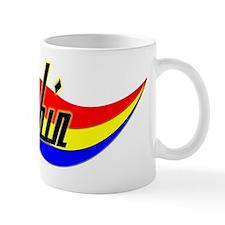 Robin's Power Swirl Name Mug