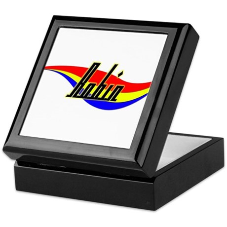 Robin's Power Swirl Name Keepsake Box