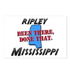 ripley mississippi - been there, done that Postcar