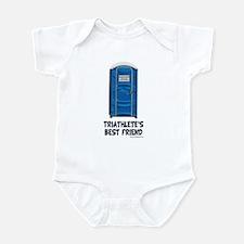 Triathlete's Best Friend Infant Bodysuit
