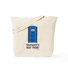 Triathlete's Best Friend Tote Bag