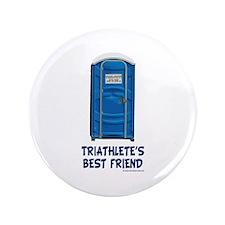 """Triathlete's Best Friend 3.5"""" Button"""
