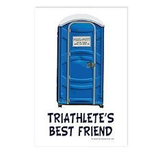 Triathlete's Best Friend Postcards (Package of 8)