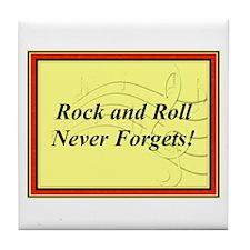 """R & R Never Forgets"" Tile Coaster"