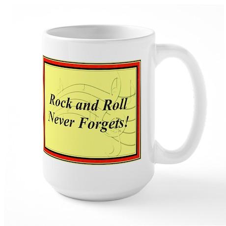 """""""R & R Never Forgets"""" Large Mug"""