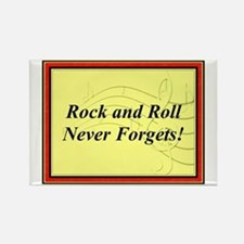 """""""R & R Never Forgets"""" Rectangle Magnet"""