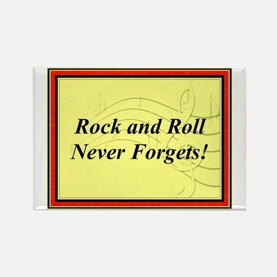"""R & R Never Forgets"" Rectangle Magnet"