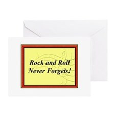 """R & R Never Forgets"" Greeting Card"