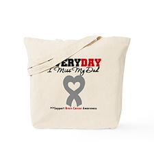 Brain Cancer Dad Tote Bag