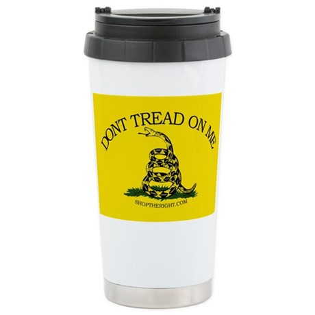 Dont tread on me Stainless Steel Travel Mug
