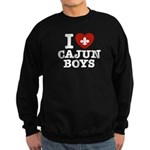 I Love Cajun Boys Sweatshirt (dark)