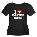I Love Cajun Boys Women's Plus Size Scoop Neck Dar