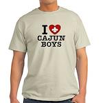 I Love Cajun Boys Light T-Shirt