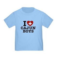I Love Cajun Boys T