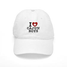 I Love Cajun Boys Baseball Cap