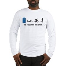 Rated E for Everyone Triathlon Long Sleeve T-Shirt