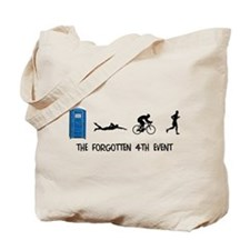 Rated E for Everyone Triathlon Tote Bag